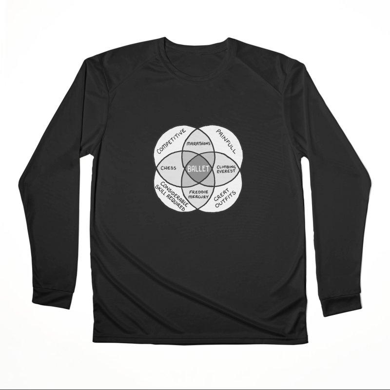 BALLET Men's Performance Longsleeve T-Shirt by Prinstachaaz