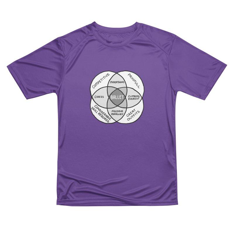 BALLET Men's Performance T-Shirt by Prinstachaaz