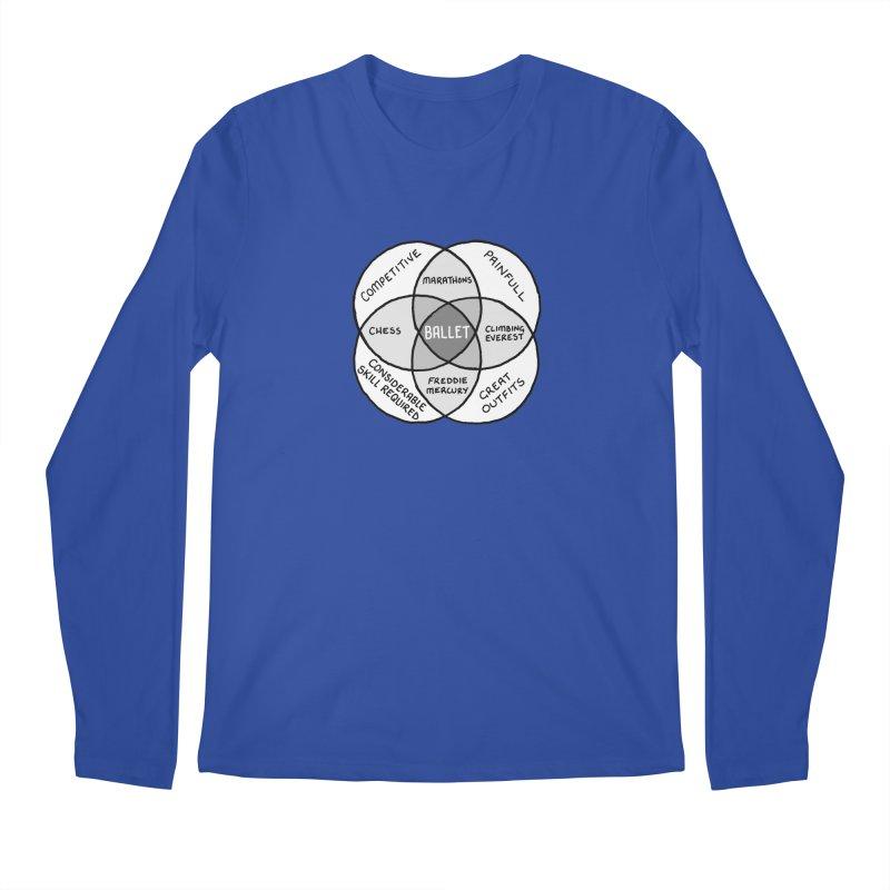 BALLET Men's Regular Longsleeve T-Shirt by Prinstachaaz