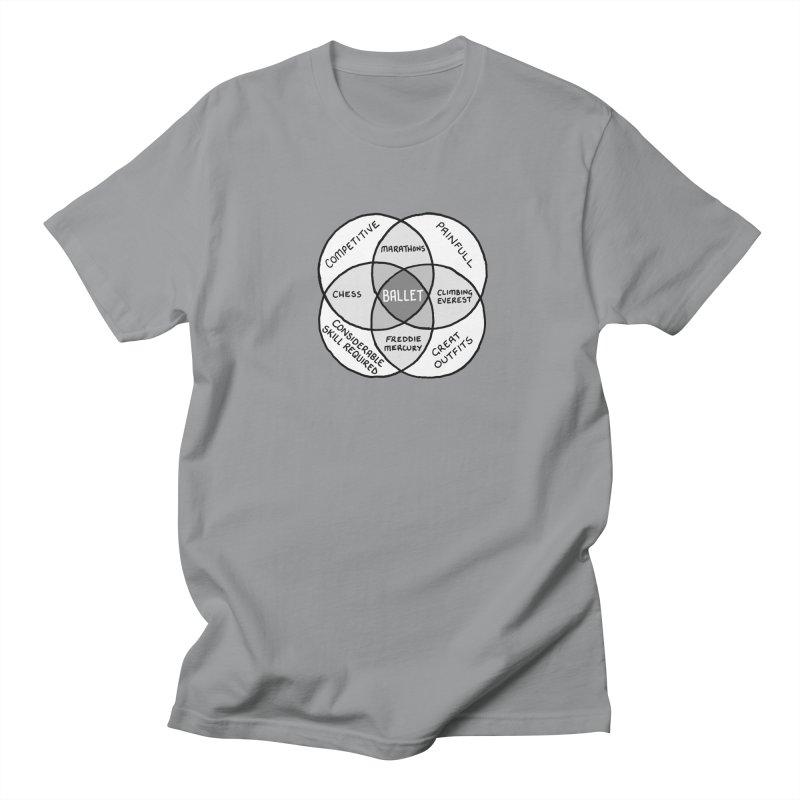 BALLET Women's Regular Unisex T-Shirt by Prinstachaaz
