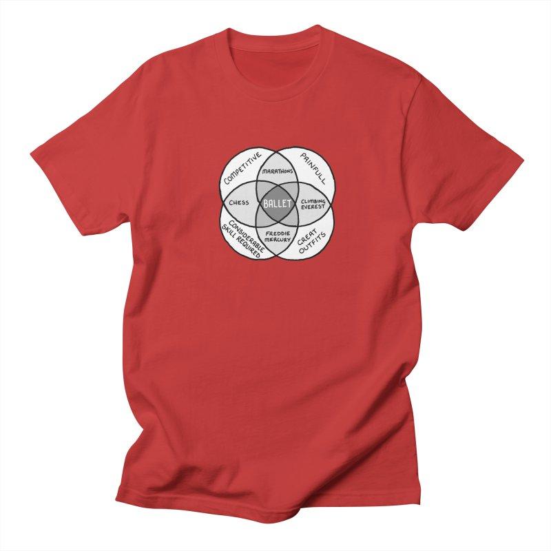 BALLET Men's Regular T-Shirt by Prinstachaaz