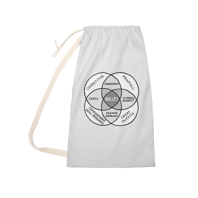 BALLET Accessories Laundry Bag Bag by Prinstachaaz