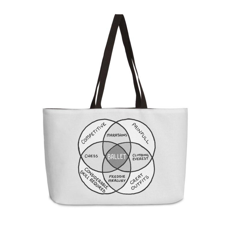 BALLET Accessories Weekender Bag Bag by Prinstachaaz