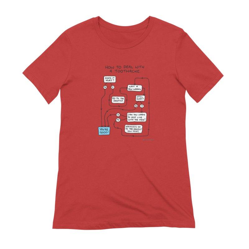 Toothache (Original) Women's Extra Soft T-Shirt by Prinstachaaz