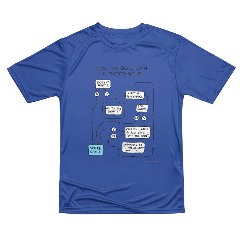 Toothache (Original) Women's Performance Unisex T-Shirt by Prinstachaaz