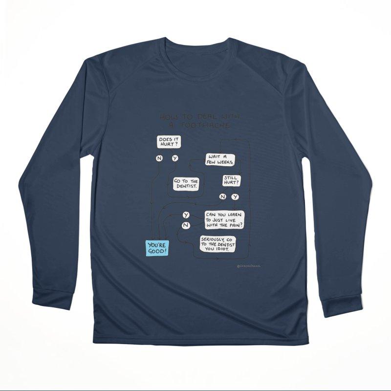 Toothache (Original) Women's Performance Unisex Longsleeve T-Shirt by Prinstachaaz