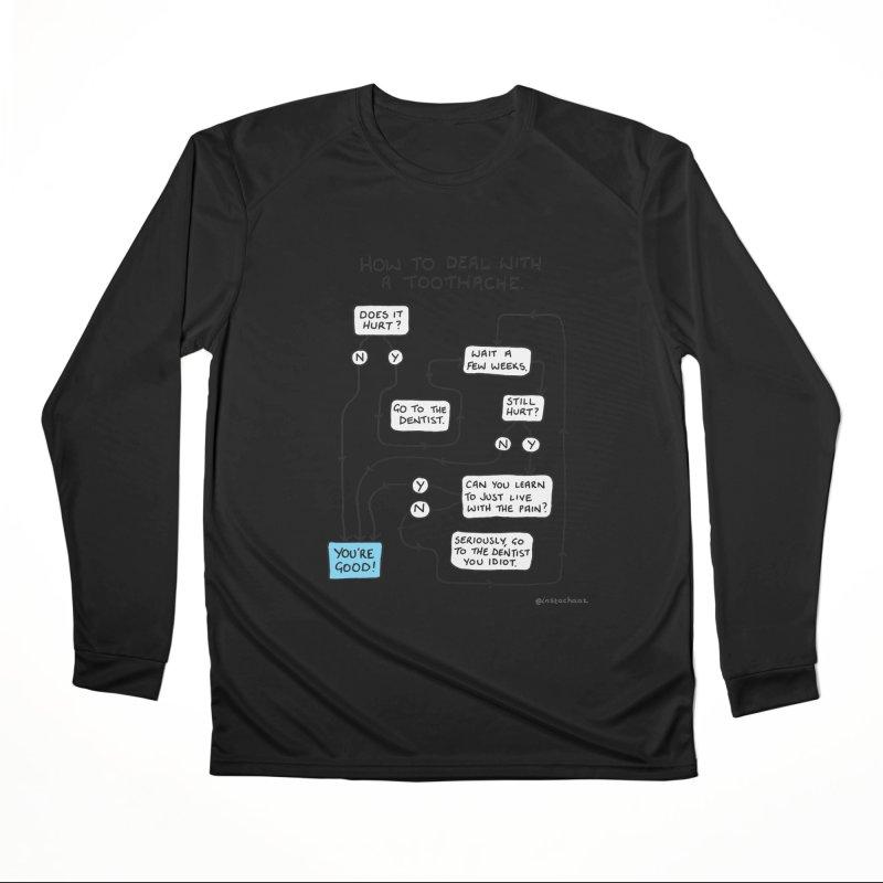 Toothache (Original) Men's Performance Longsleeve T-Shirt by Prinstachaaz