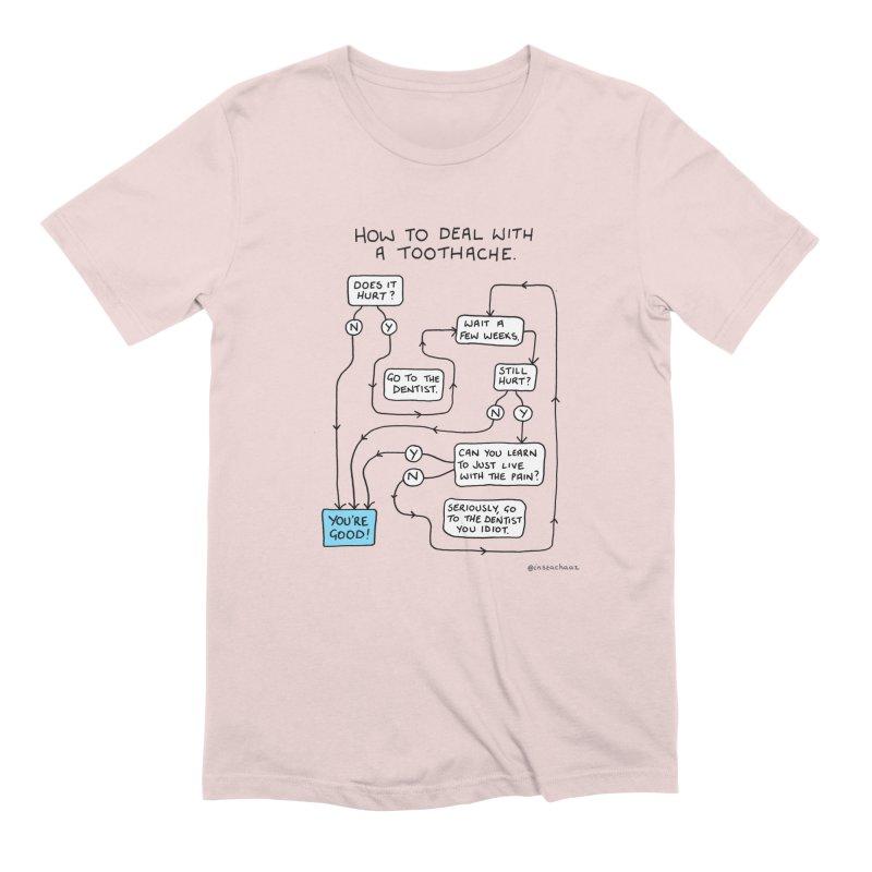 Toothache (Original) Men's Extra Soft T-Shirt by Prinstachaaz