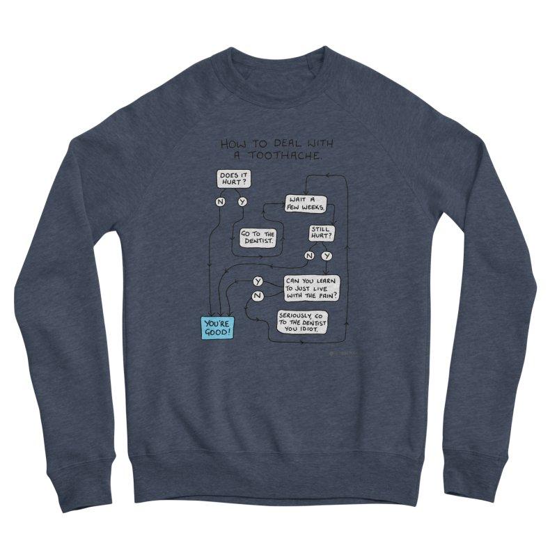 Toothache (Original) Women's Sponge Fleece Sweatshirt by Prinstachaaz