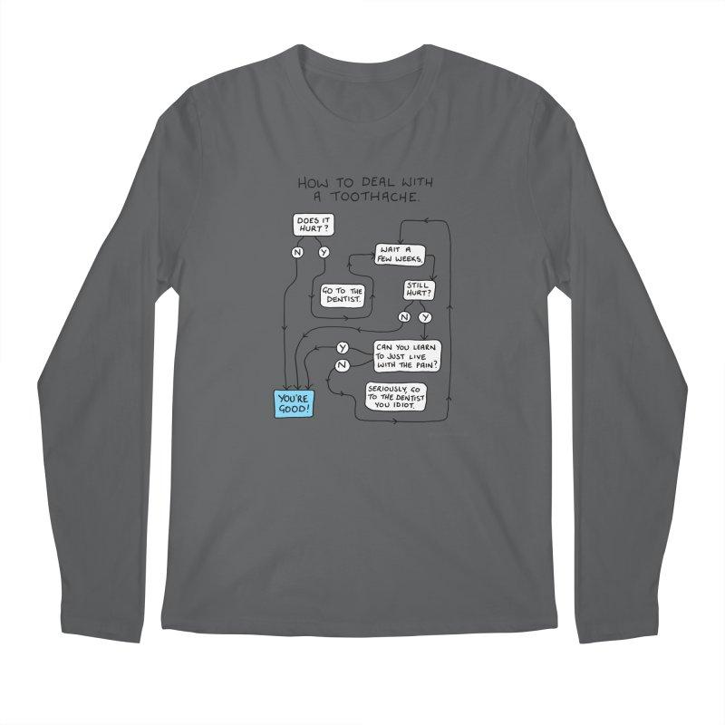 Toothache (Original) Men's Longsleeve T-Shirt by Prinstachaaz