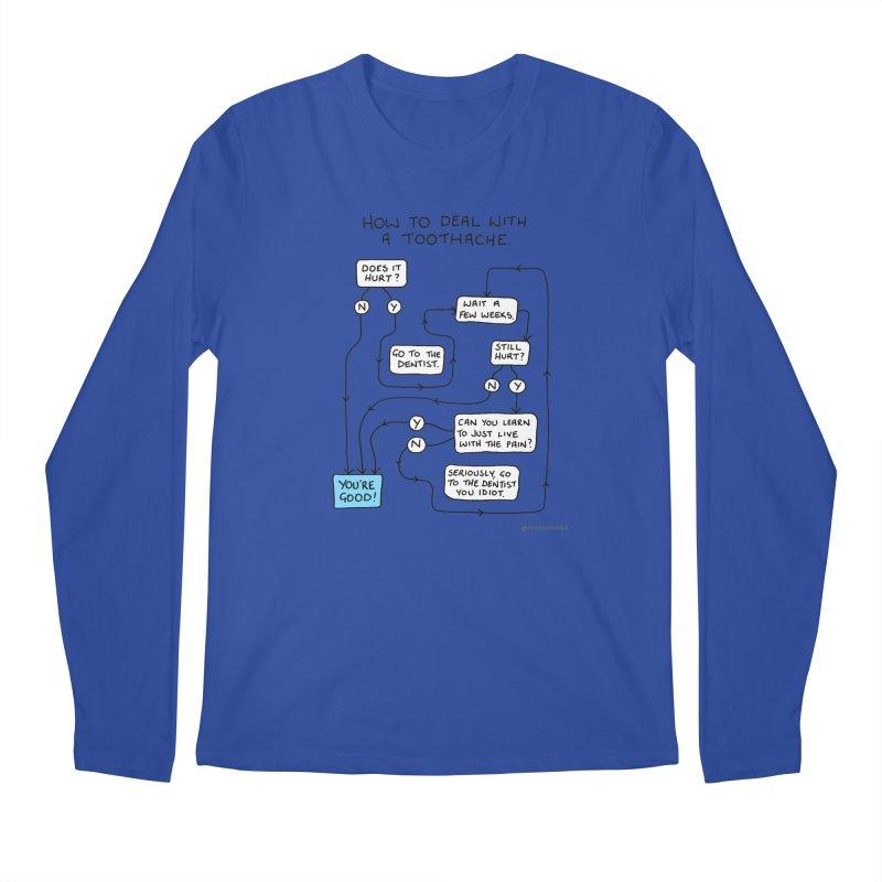 Toothache (Original) Men's Regular Longsleeve T-Shirt by Prinstachaaz