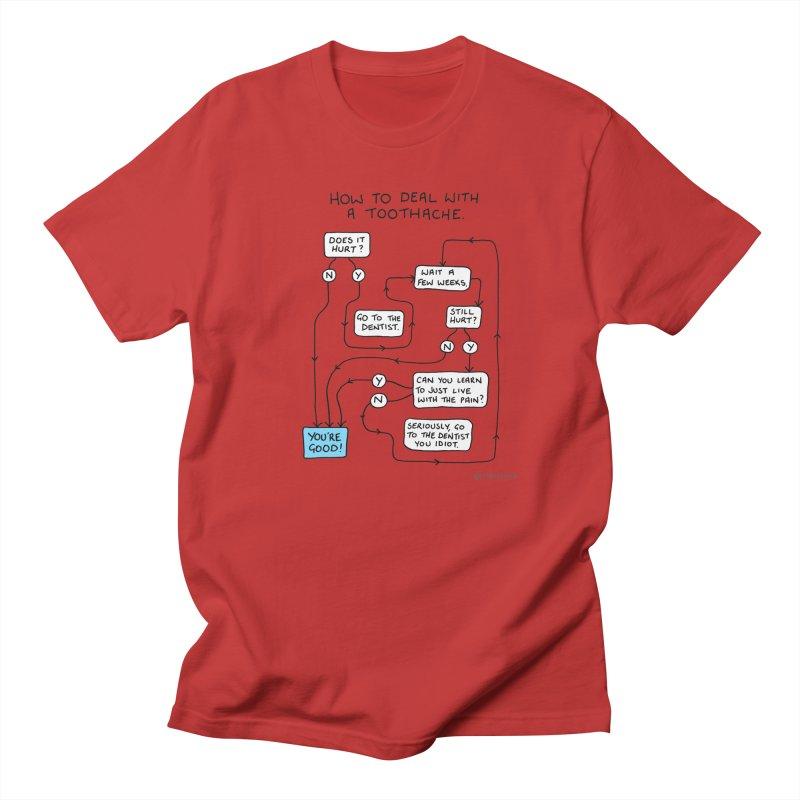 Toothache (Original) Women's Regular Unisex T-Shirt by Prinstachaaz