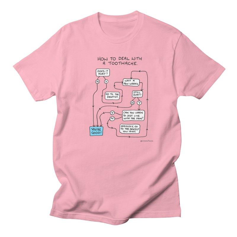 Toothache (Original) Men's Regular T-Shirt by Prinstachaaz