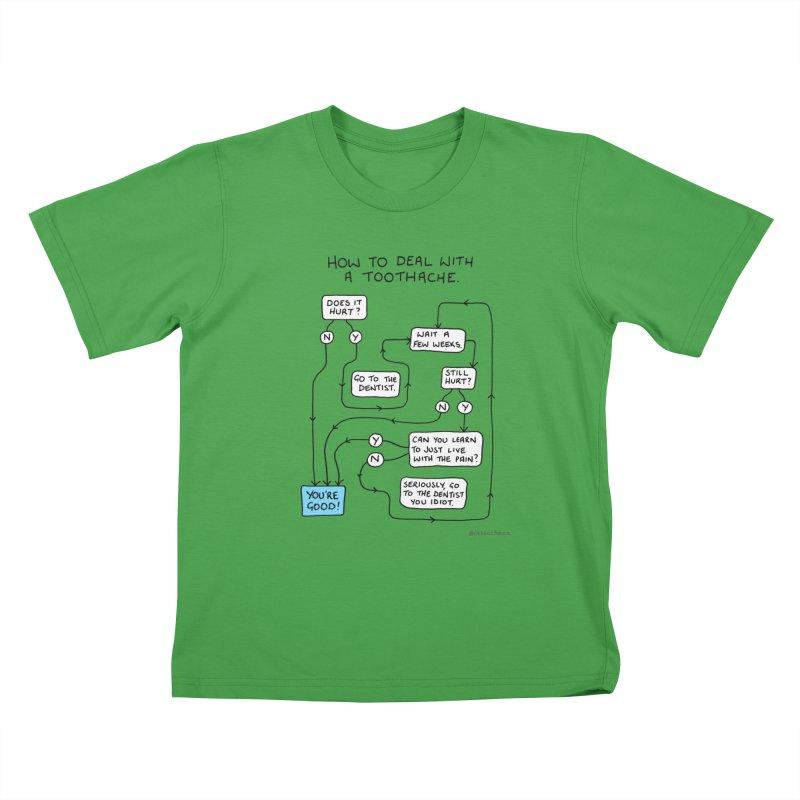 Toothache (Original) Kids T-Shirt by Prinstachaaz