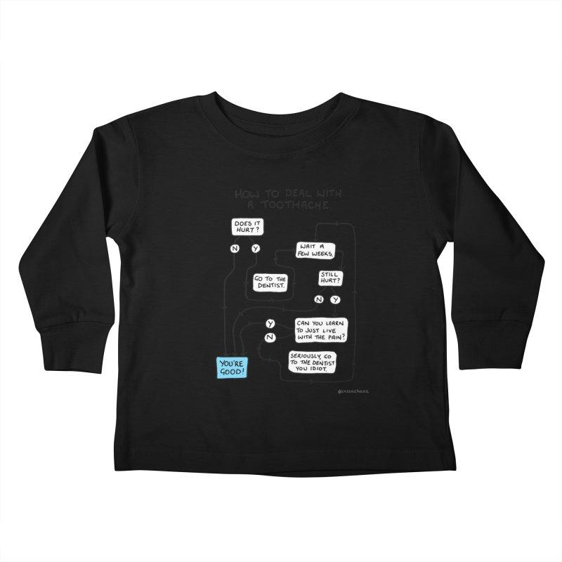 Toothache (Original) Kids Toddler Longsleeve T-Shirt by Prinstachaaz