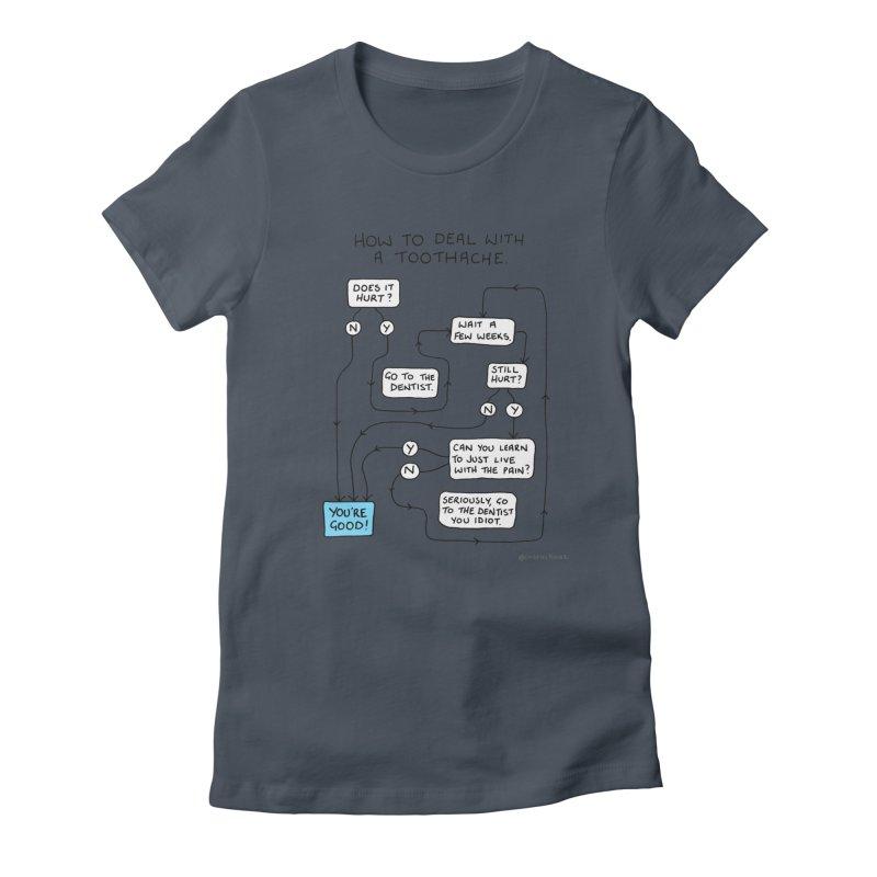 Toothache (Original) Women's T-Shirt by Prinstachaaz