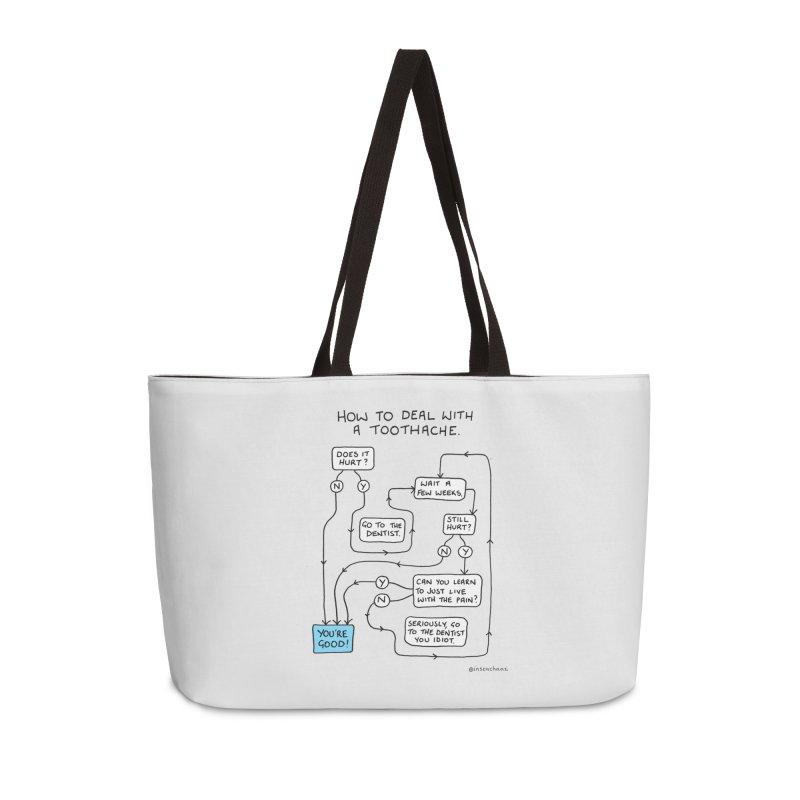 Toothache (Original) Accessories Weekender Bag Bag by Prinstachaaz