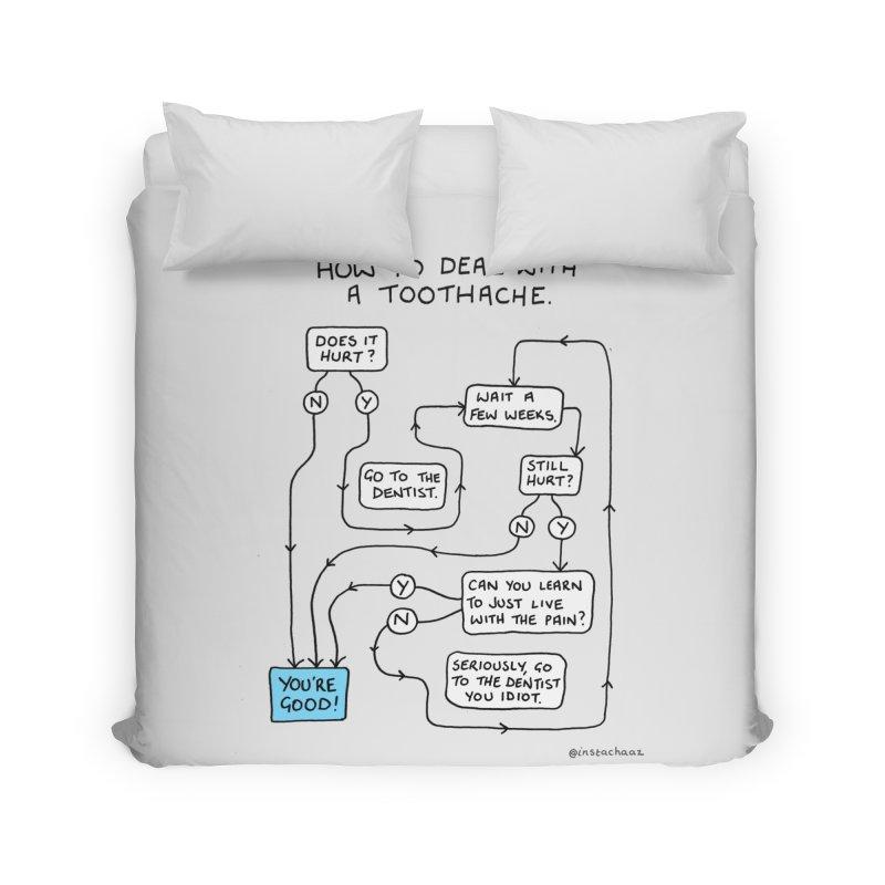 Toothache (Original) Home Duvet by Prinstachaaz