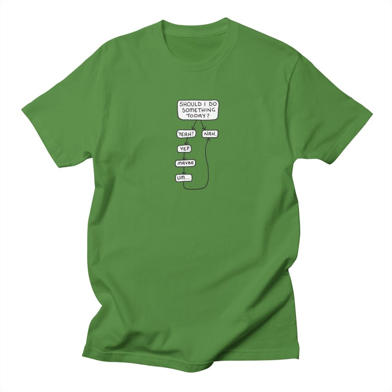 Should I... Men's Regular T-Shirt by Prinstachaaz