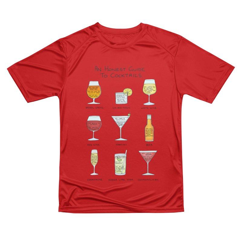 An Honest Guide to Cocktails Women's Performance Unisex T-Shirt by Prinstachaaz