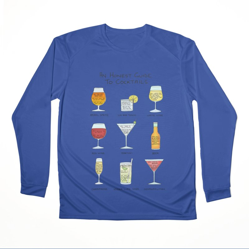 An Honest Guide to Cocktails Men's Performance Longsleeve T-Shirt by Prinstachaaz