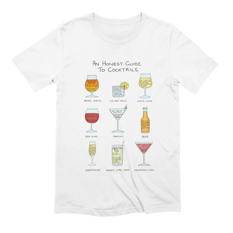 An Honest Guide to Cocktails Men's Extra Soft T-Shirt by Prinstachaaz