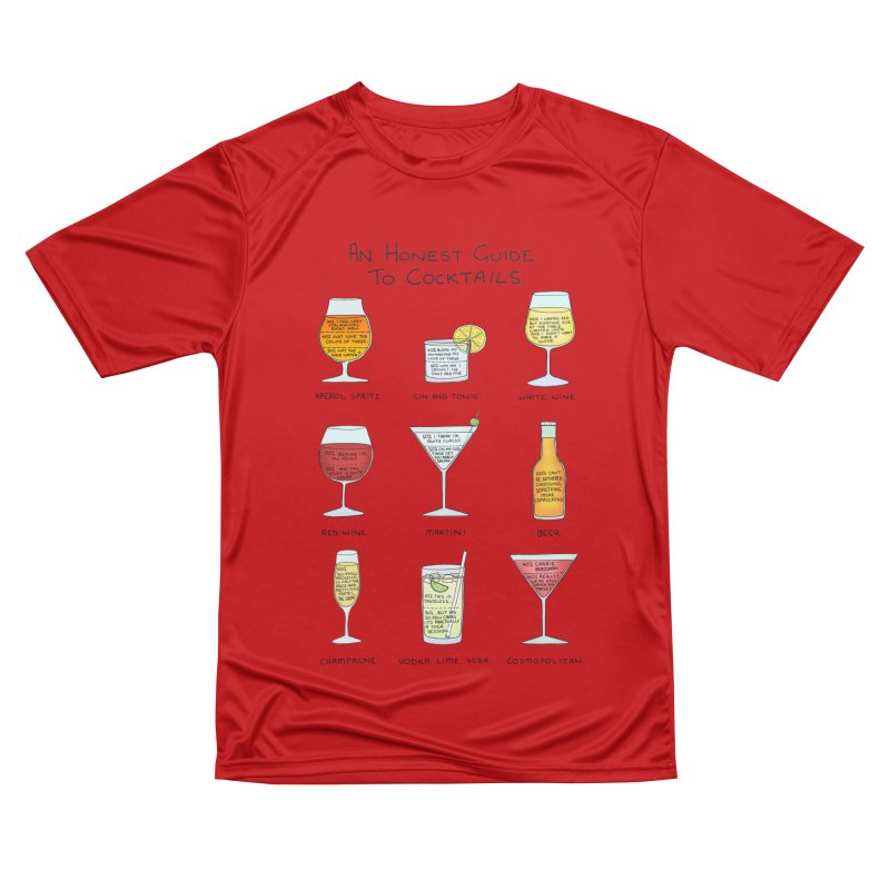 An Honest Guide to Cocktails Men's Performance T-Shirt by Prinstachaaz