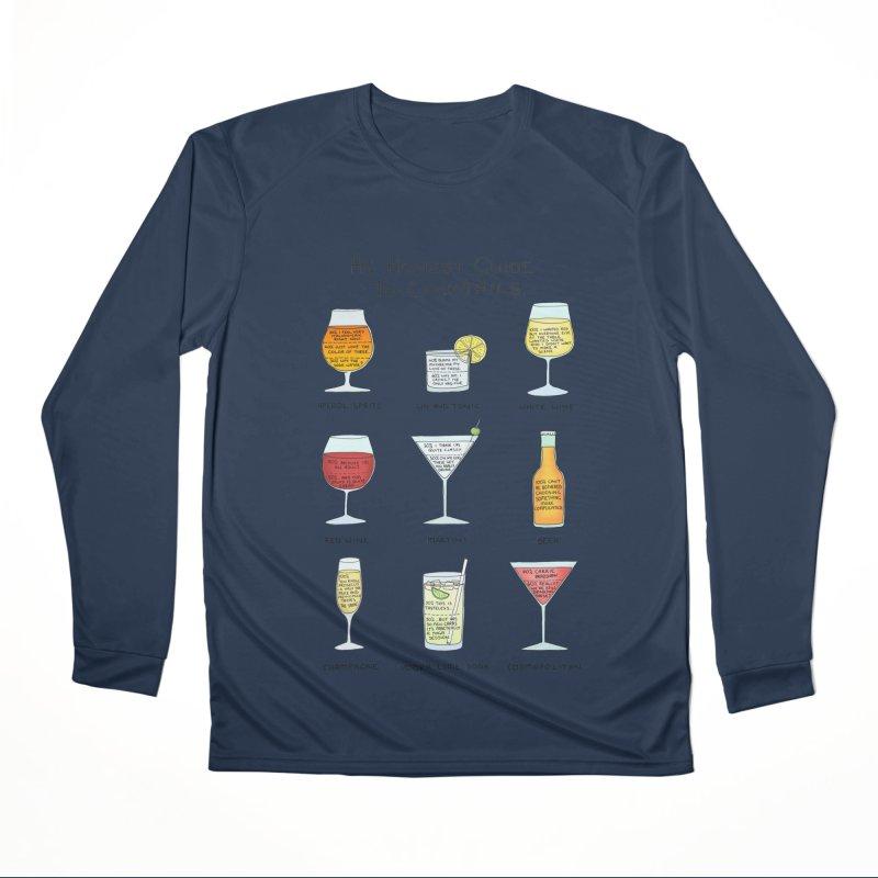 An Honest Guide to Cocktails Women's Performance Unisex Longsleeve T-Shirt by Prinstachaaz