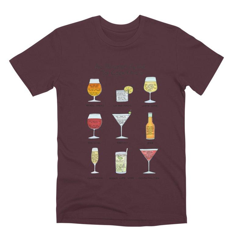 An Honest Guide to Cocktails Men's Premium T-Shirt by Prinstachaaz