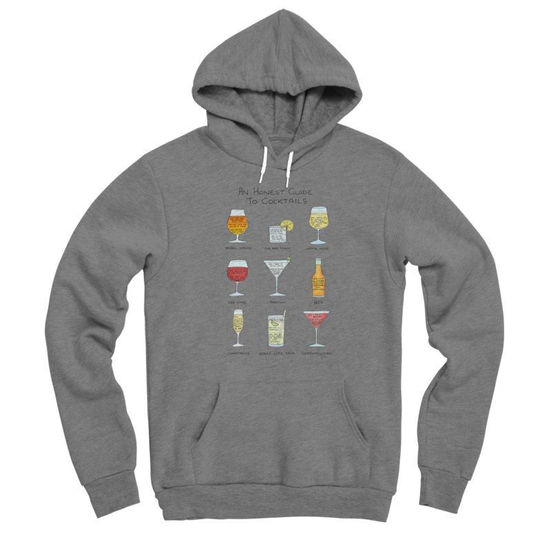 An Honest Guide to Cocktails Men's Sponge Fleece Pullover Hoody by Prinstachaaz
