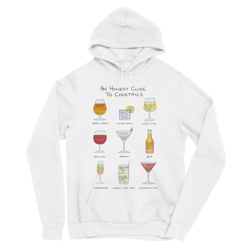 An Honest Guide to Cocktails Men's Sponge Fleece Pullover Hoody by Prinstachaaz