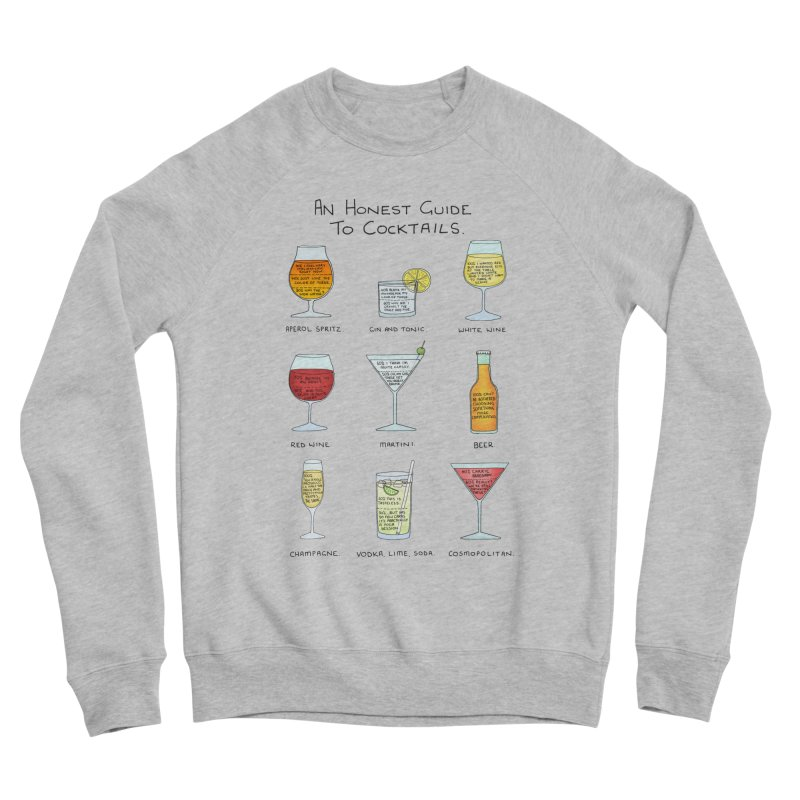 An Honest Guide to Cocktails Men's Sponge Fleece Sweatshirt by Prinstachaaz