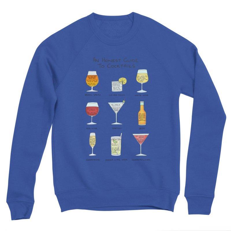 An Honest Guide to Cocktails Men's Sponge Fleece Sweatshirt by Prinstachaaz