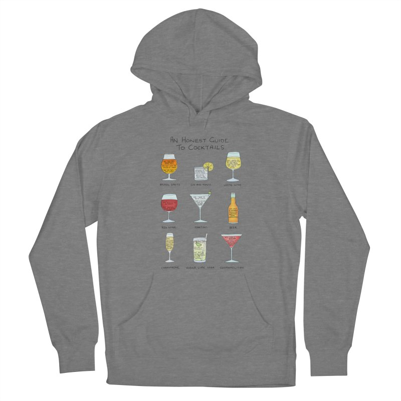 An Honest Guide to Cocktails Women's French Terry Pullover Hoody by Prinstachaaz