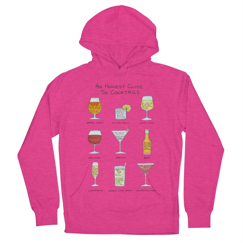 An Honest Guide to Cocktails Men's French Terry Pullover Hoody by Prinstachaaz