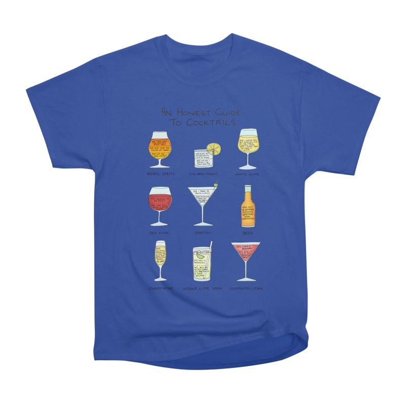 An Honest Guide to Cocktails Women's Heavyweight Unisex T-Shirt by Prinstachaaz