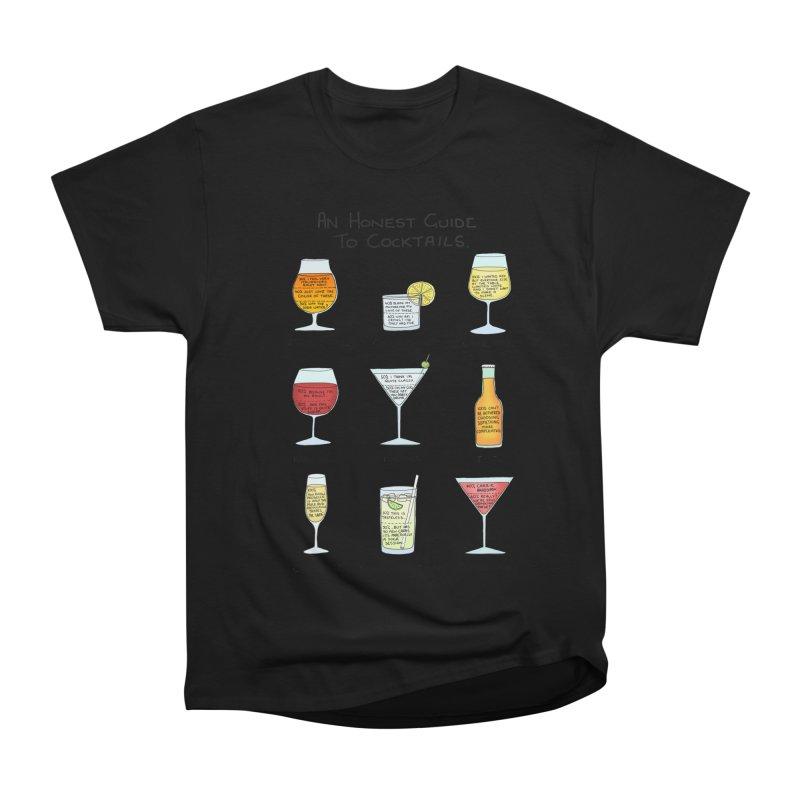 An Honest Guide to Cocktails Women's Heavyweight Unisex T-Shirt by Prinstachaaz