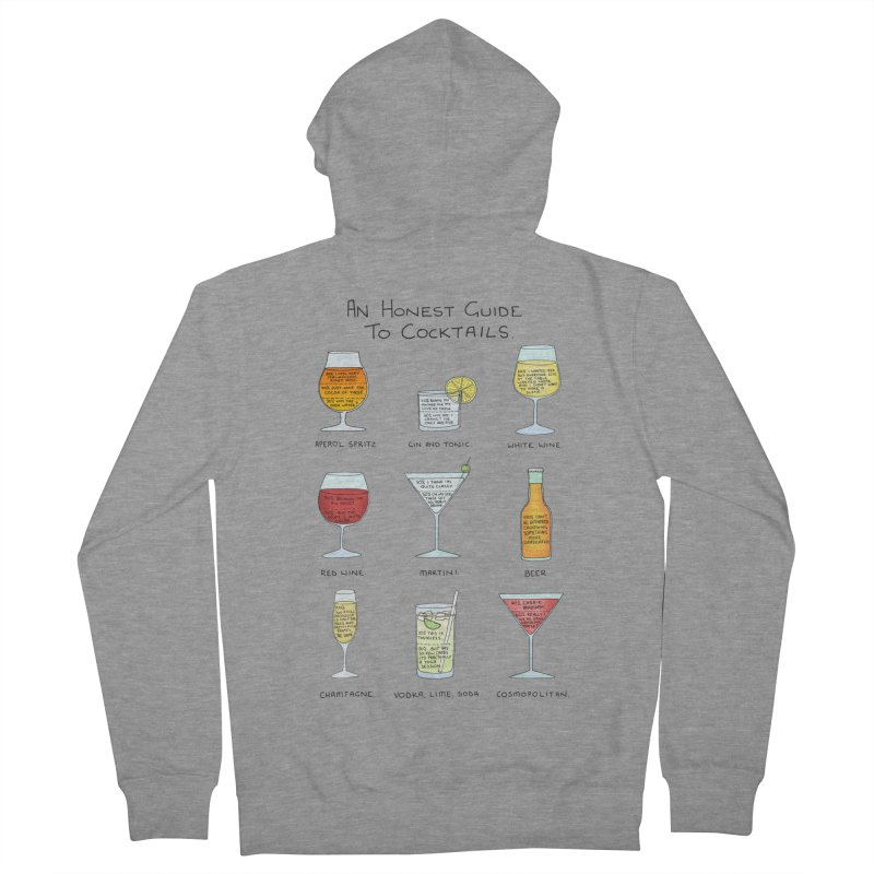 An Honest Guide to Cocktails Women's French Terry Zip-Up Hoody by Prinstachaaz