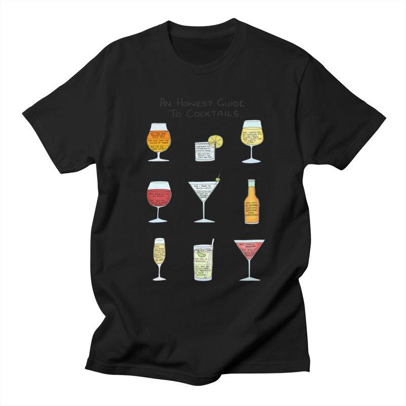 An Honest Guide to Cocktails Women's Regular Unisex T-Shirt by Prinstachaaz