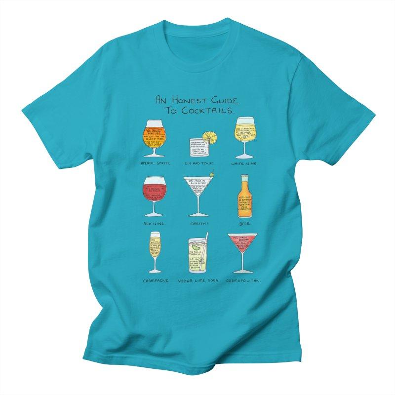 An Honest Guide to Cocktails Men's Regular T-Shirt by Prinstachaaz
