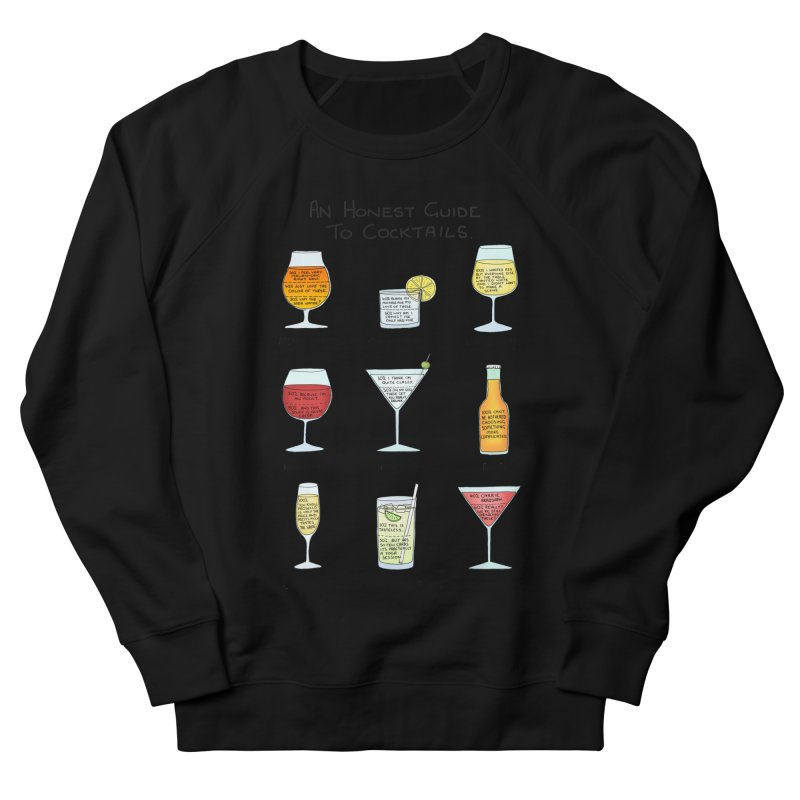 An Honest Guide to Cocktails Men's French Terry Sweatshirt by Prinstachaaz