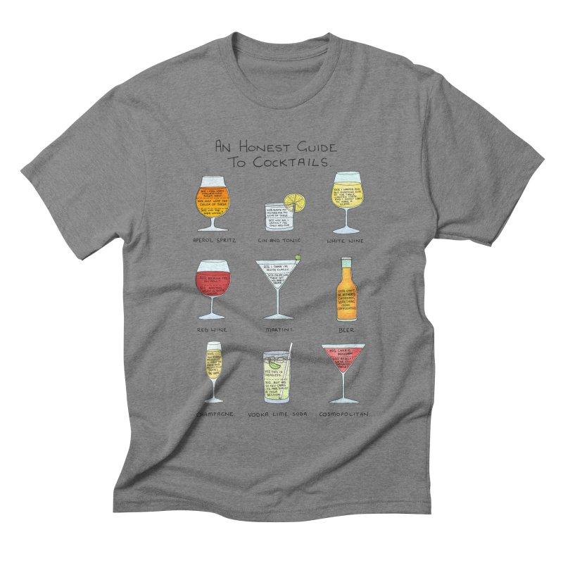An Honest Guide to Cocktails Men's Triblend T-Shirt by Prinstachaaz