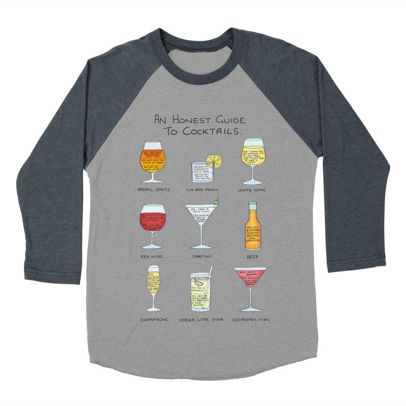 An Honest Guide to Cocktails Women's Baseball Triblend Longsleeve T-Shirt by Prinstachaaz
