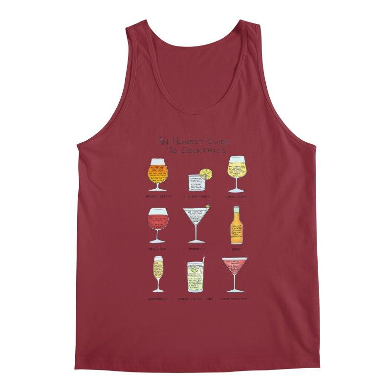 An Honest Guide to Cocktails Men's Regular Tank by Prinstachaaz