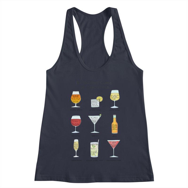 An Honest Guide to Cocktails Women's Racerback Tank by Prinstachaaz