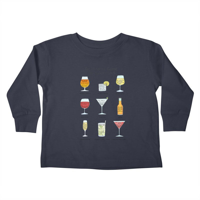 An Honest Guide to Cocktails Kids Toddler Longsleeve T-Shirt by Prinstachaaz