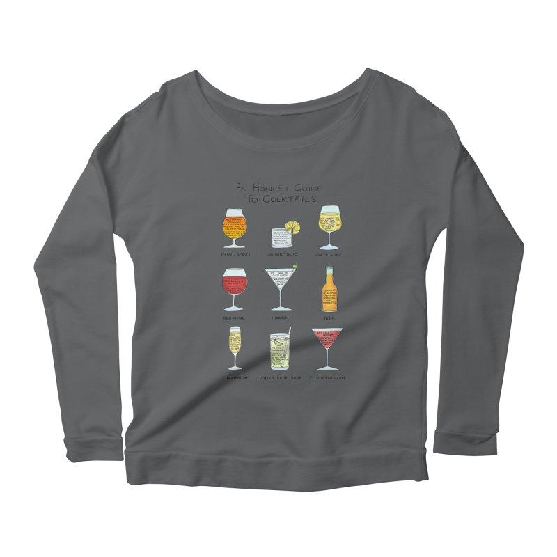 An Honest Guide to Cocktails Women's Scoop Neck Longsleeve T-Shirt by Prinstachaaz