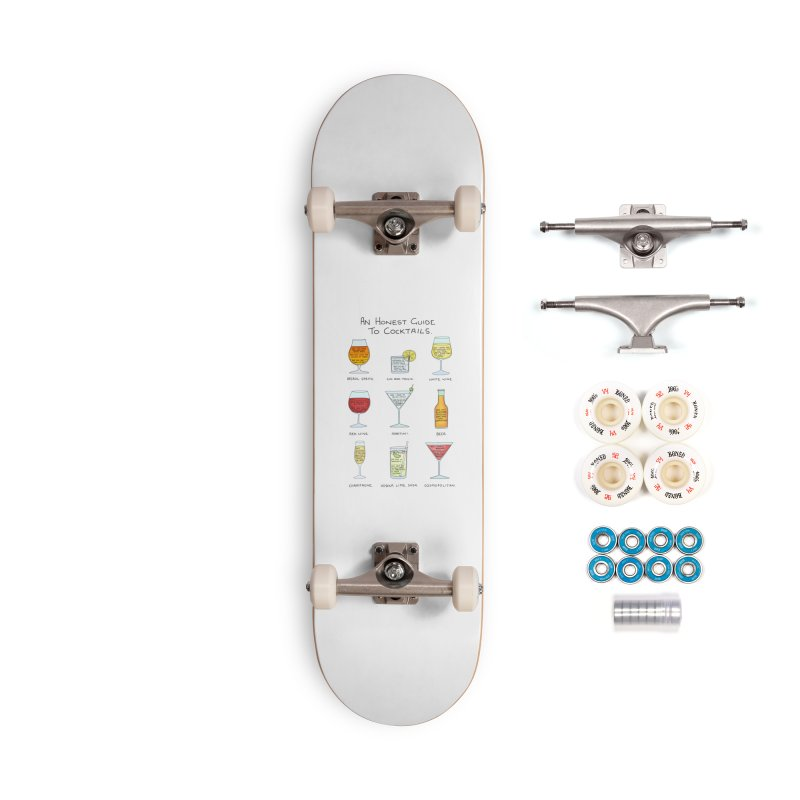 An Honest Guide to Cocktails Accessories Complete - Premium Skateboard by Prinstachaaz