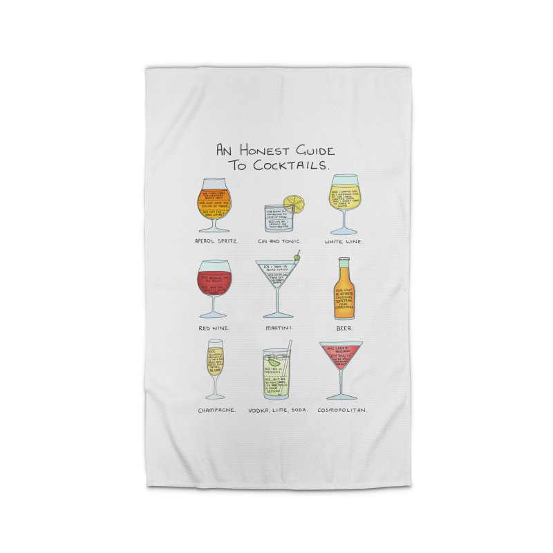 An Honest Guide to Cocktails Home Rug by Prinstachaaz