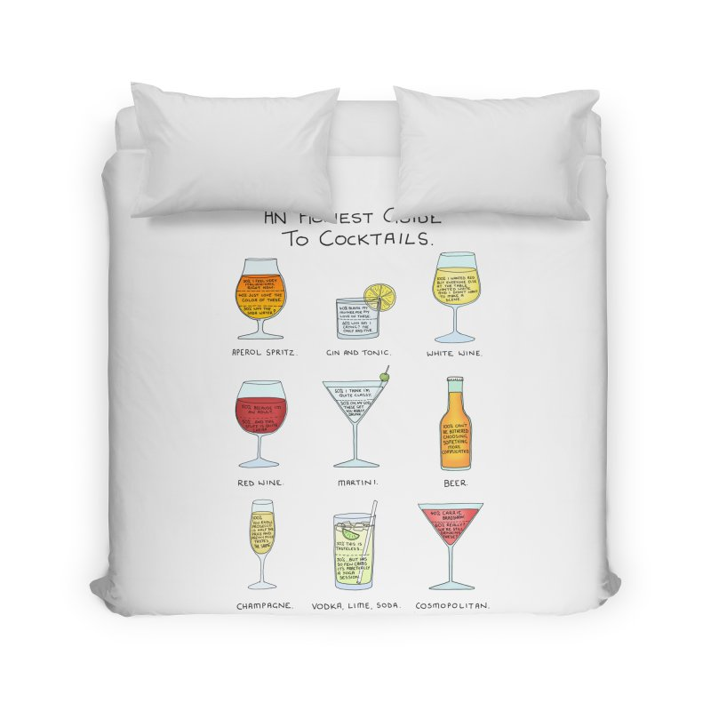 An Honest Guide to Cocktails Home Duvet by Prinstachaaz